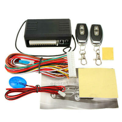 Car Central Universal Remote Control Kit Door Lock Locking Keyless Entry System