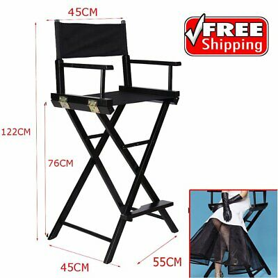 Professional Folding Makeup Artist Directors Chair Salon Make Up Use Portable UK