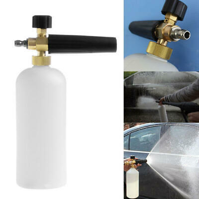 "High Pressure Washer Jet 1/4"" Snow Foam Lance Cannon Car Clean Washer Bottle"