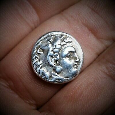 Alexander III, the Great, 310-301 BC. AR Drachm Rare Life Time Issue