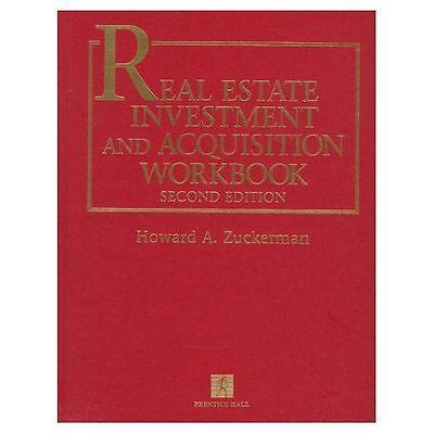 Real Estate Investment and Acquisition Workbook, Lewis, Stephen E.,Zuckerman, Ho