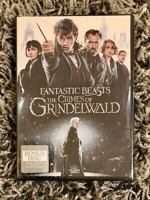 Fantastic Beasts The Crimes of Grindelwald Brand New DVD Free Shipping