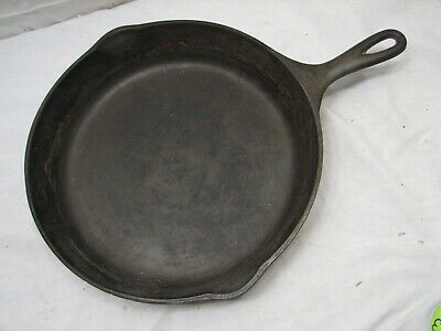 Wagner Cast Iron No. 10 Skillet -O- 1060 Sidney Fry Frying Pan