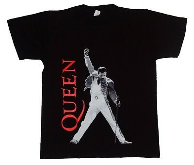 31289d45 Queen ll New Men T-Shirt Classic Rock Freddie Mercury We Are The Champions  Shirt
