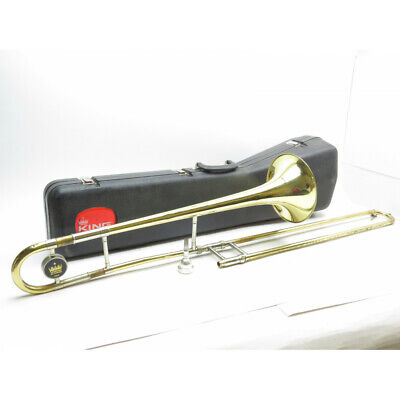 KING MODEL 606 Student Tenor Trombone in Lacquer BRAND NEW