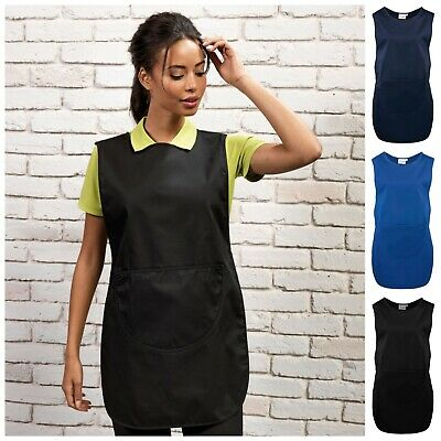 Premium Tabard Tabbard Apron with Pocket Workwear Overall Catering Cleaning 920