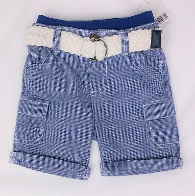 MOTHERCARE Baby Boys Clothes Blue Denim Summer Shorts 6-9 & 9-12 Months BNWT