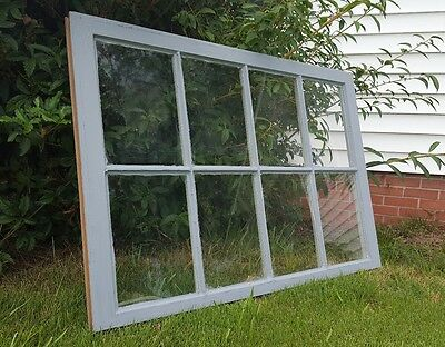 Vintage Sash Antique Wood Window Unique Frame Pinterest Gray 36X28 8 Pane