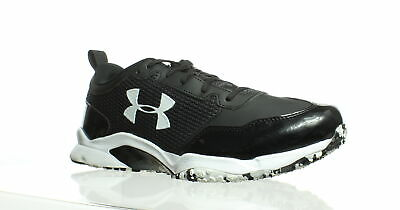 online store 8ba26 94ad6 Under Armour Mens Ultimate Turf Trainer Black Running Shoes Size 11 (212196)