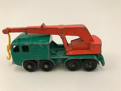 Vintage Matchbox Lesney 8 Wheel Crane Truck Series No.30 England UK 1960's