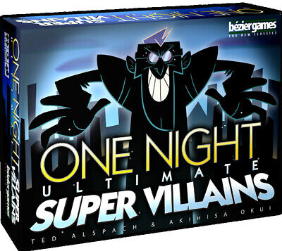 One Night Ultimate Super Villains  - BRAND NEW