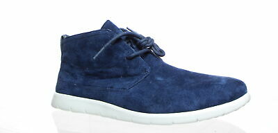 UGG Mens Lynwood New Navy Ankle Boots Size 11.5 (320608)