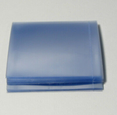 50 Tamper Evident Security Shrink Wrap Bands Perforated Heat Seals 65 x 55 #9545