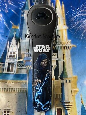 DISNEY PARKS Star Wars Emperor & Darth Vader BLACK Magic Band Magicband