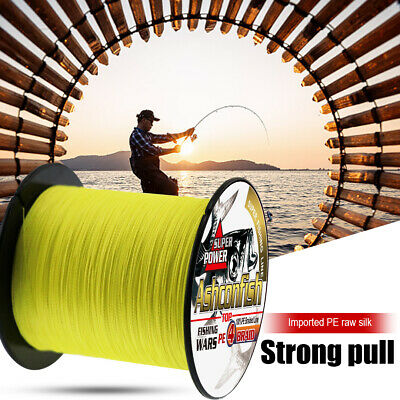 300M Super Strong PE Japan Multifilament Braided Fishing Line 4 Strands Cord