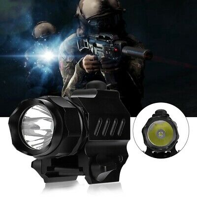 New Portable Aluminum Alloy LED Tactics Flashlight for Camping Emergency Outdoor