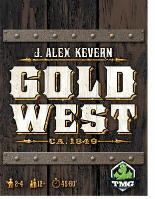 Gold West - Strategy Board Game
