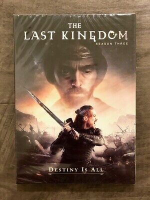 The Last Kingdom Complete Third Season Brand New DVD with Free SHIPPING
