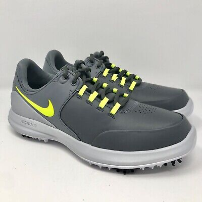 1ad9159810175 Nike Air Zoom Accurate Golf Shoes Dark Grey Lime 909723-001 Men s Size 9 NEW