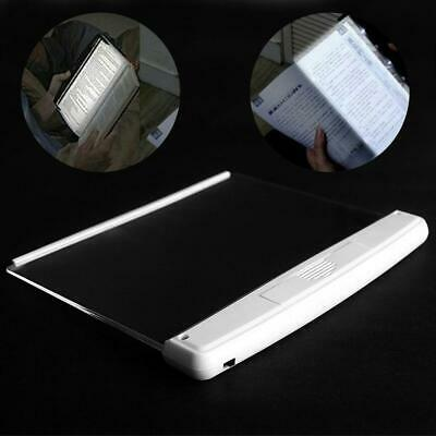 Creative LED Book Light Reading Night Light Flat Plate Portable LED Desk Lamp