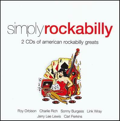 Rockabilly (2 Cd) Roy Orbison~Conway Twitty~Carl Perkins~Buddy Knox ++ *New*