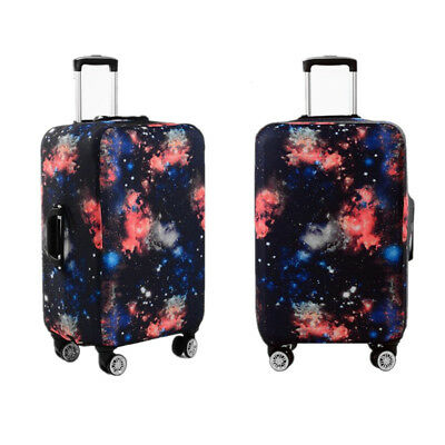 Elastic Galaxy Trolley Luggage Cover Dust Rain Suitcase Protective Case Travel