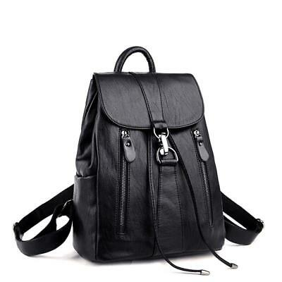 Fashion Backpack Womens Satchel Travel Rucksack Shoulder Bag Faux Leather