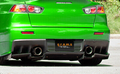 Varis Style Rear Diffuser / Undertray for Mitsubishi Lancer Evo X v8