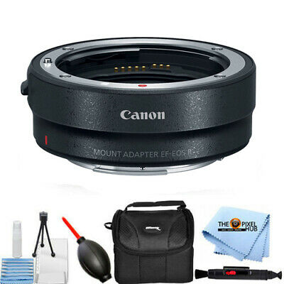 Canon Mount Adapter EF-EOS R 2971C002 Accessory Gadget Bag Bundle