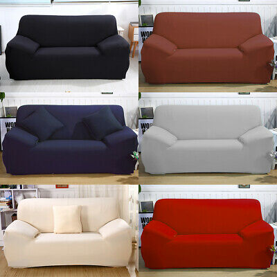 Stretch Sofa Cover Couch Lounge Protector Slipcovers Elastic Couch L Shape 2+2/3