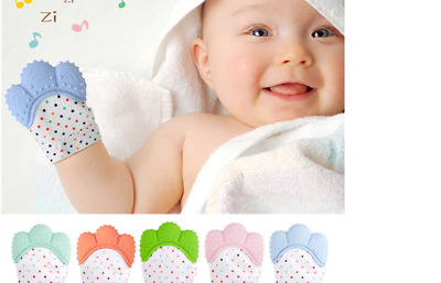 Silicone Baby Baby Glove/Teething Mitten