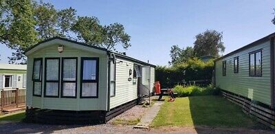 Static caravan for hire Todber valley holiday rental Ribble Valley Lancashire