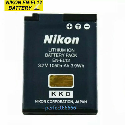 Original Nikon EN-EL12 EN EL12 Battery for Coolpix P300 S8000 S610 Camera