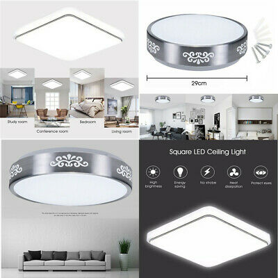 Modern Round Square LED Ceiling Down Light Panel Wall Mount Kitchen Bedroom Lamp