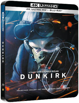 Dunkirk 4K Ultra HD+Blu Ray Limited Edition Steelbook /WORLDWIDE SHIPPING