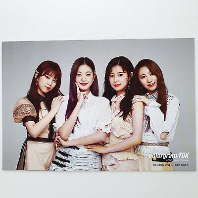 [PRODUCE 48] IZ*ONE x OLIVE YOUNG colorgram:TOK Promotional Limited Postcard