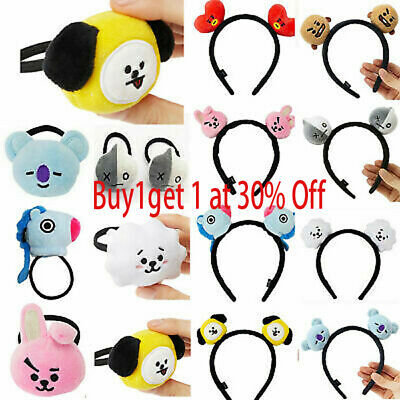Kpop Headbands Hair Band Tie Hairpin Bangtan Boys CHIMMY Tuck Comb Gift T