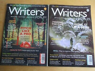 2 X Writers' Forum Writing Magazines 2017/18 Russell Day Short Stories