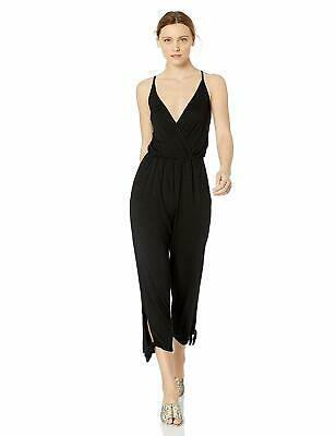Lucky Brand Women's V-Neck Jumpsuit New Without Tags (Black, Small)