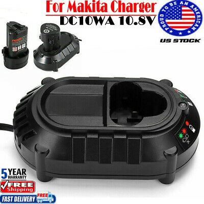 197340-6 Original Makita Charger 10.8V-12V DC10WD