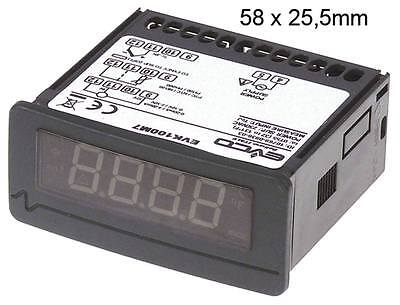 Every Control Evk100m7 Thermometer 230v AC -200 Bis +1300°C Dimensions 71x29mm