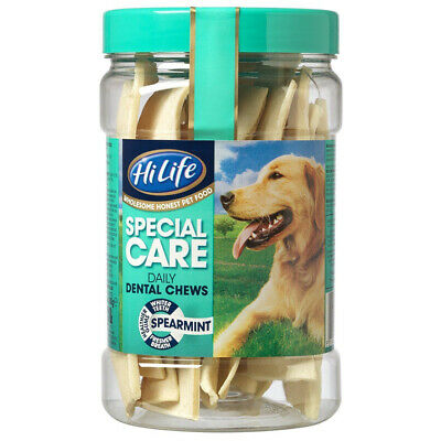 PTD Hilife Special Care Daily Dental Chews Spearmint 12's