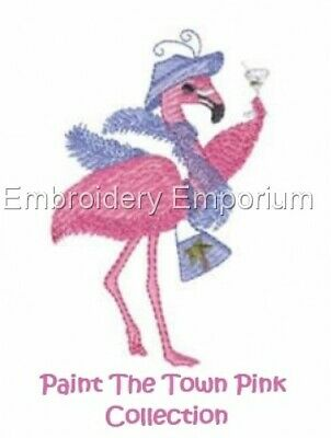 Paint The Town Pink Collection - Machine Embroidery Designs On Cd Or Usb