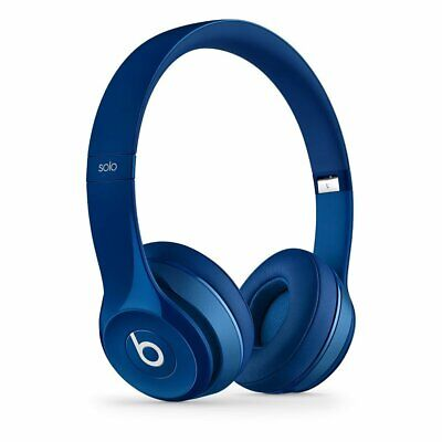 Beats By Dre Solo 2 On-Ear Headphones Wired - Blue
