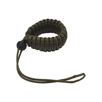 Adjustable Braided Paracord Camera Wrist Strap Lanyard for Canon Nikon  X9Y5