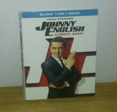 Johnny English: Strikes Again (Blu-ray) Slipcover Only. No Movie Is Included.