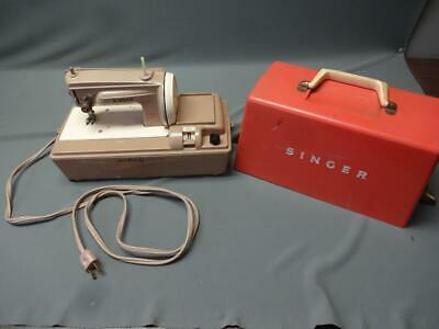 Singer Vintage SewHandy Electric Sewing Machine For Children Working Condition