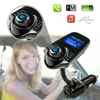 Bluetooth Car-Kit FM Transmitter Radio MP3 Player USB Charger Wireless Handsfree
