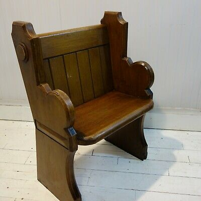 Victorian Church Altar Chair