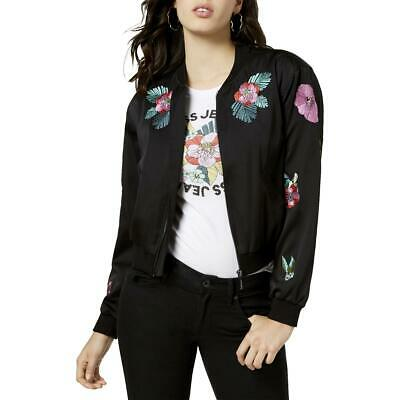 f9e86a8bc TRUE RELIGION WOMEN'S Sheep Leather Cropped Bomber $598 Jacket ...